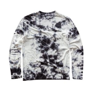 GRIZZLY STORM FRONT TIE-DYE LS TEE